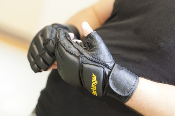 Boxhandschuhe als Schutz beim Training