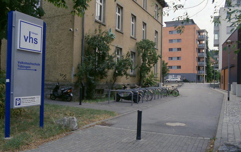 Ausgangspunkt Volkshochschule Tübingen